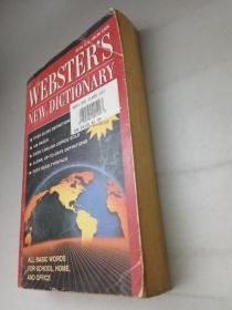 正版 品净  WEBSTERS NEW DICTIONARY (英文原版 韦氏新词典  1994年版 )