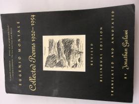 [意英对照]蒙塔莱诗集  The Collected Poems of Eugenio Montale:1920-1954