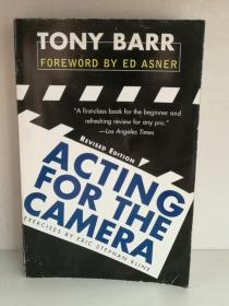 Tony Barr : Acting for the Camera (电影)英文原版书