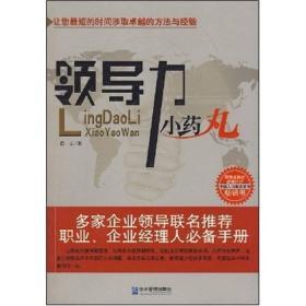 领导力小药丸 白山 企业管理出版社 9787801979889
