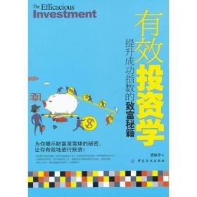 有效投资学:提升成功指数的致富秘籍