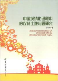 中国城镇化进程中的农村土地问题研究