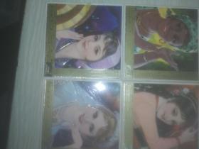 【年历片】美女(4枚合售 品见图)