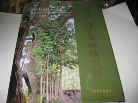 中国银杏种质资源--作者签赠本,精装小8开9品多,2013年1版1印