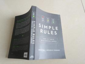SIMPLE RULES【HOW TO THRIVE IN A COMPLEX WORLD】