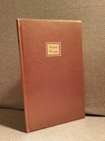 Harsh Words(T.M.克莱兰《逆耳之言》,仅限量200册,带编号,一代著名插画设计师,毛边,带格拉辛纸,1940年老版本)