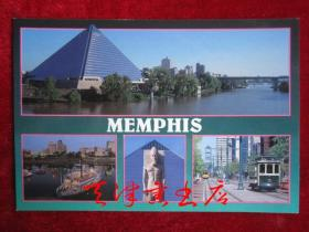 Memphis(孟菲斯)明信片(单枚)