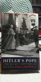Hitlers Pope: The Secret History of Pius XIl  希特勒研究学术著作 (英文原版 精装大厚本)
