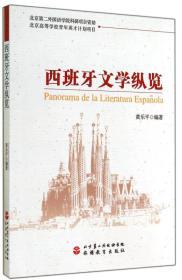 西班牙文学纵览(中西双语)黄乐平 北京旅游教育出版社