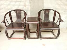 古董古玩老家具紫檀皇宫椅木器明清家具