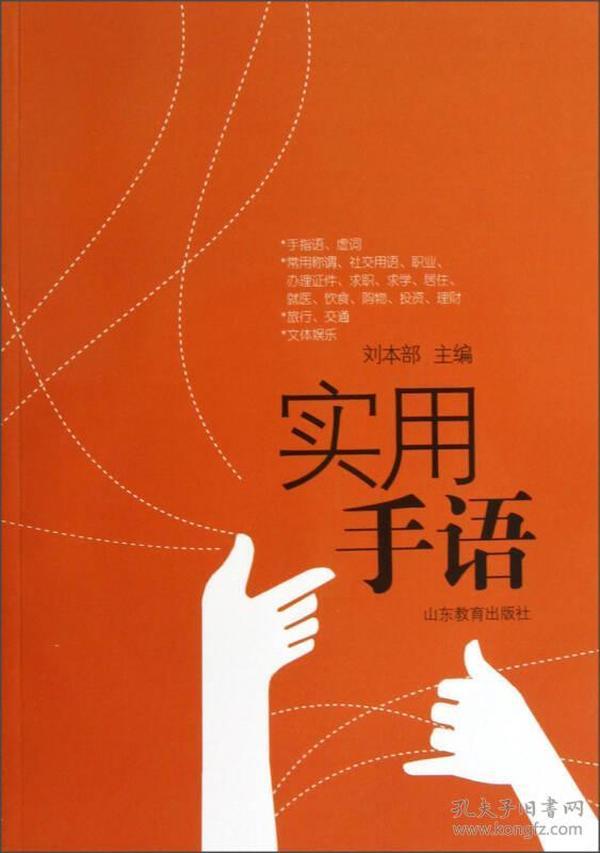 实用手语手册(含光盘)