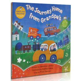 The Journey Home From GrandpasBook+CD 英文原版