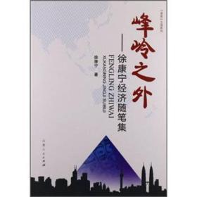 峰岭之外——徐康宁经济随笔集