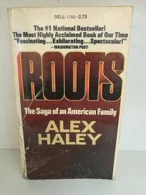根:美国黑人家族史诗 Alex Haley:Roots The Saga of an Anerican Family (黑人)英文原版书