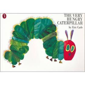 The Very Hungry Caterpillar好饿的毛毛虫 英文原版