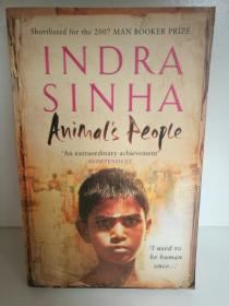 Indra Sinha:Animals People (印度) 英文原版书