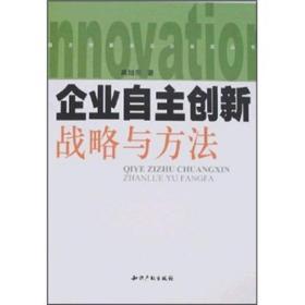 自主创新企业·企业家丛书:企业自主创新战略与方法