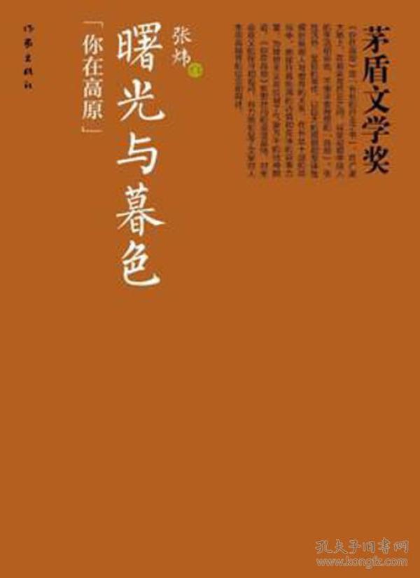 茅盾文学奖:曙光与暮色