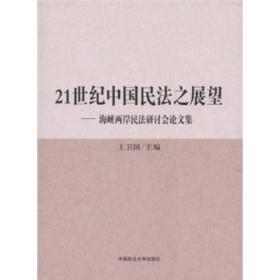 21世纪中国民法之展望:海峡两岸民法研讨会论文集