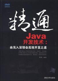 精通Java开发技术:由浅入深领会高效开发之道