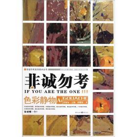 非诚勿考系列美术丛书:色彩静物