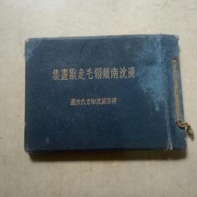清沈南苹翎毛走兽画集(全一册)