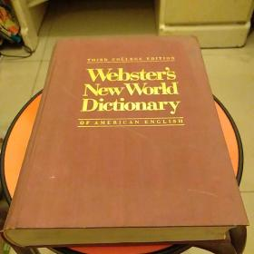 Websters New World Dictionary of AMERICAN  ENGLISHTHIRD COLLEGE EDITION