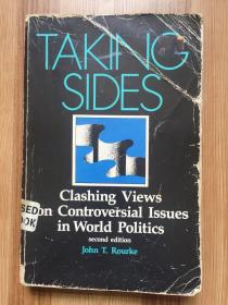 TAKING SIDES Clashing Views on Controversial Issues in World Politics second edition