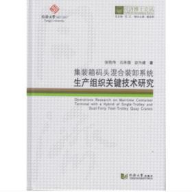 正版】集装箱码头混合装卸系统生产组织关键技术研究