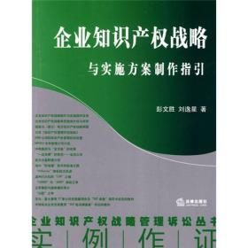 企业知识产权战略与实施方案制作指引