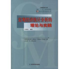宏观经济统计分析的理论与实践