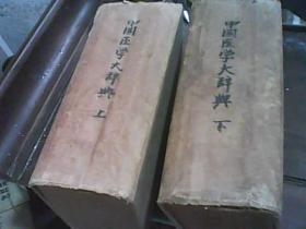 中国医学大辞典(上下)(民国)(精装)民国16年