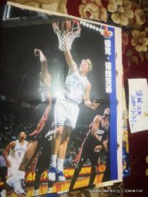 篮球海报收藏:篮球 2001年第24期 德克诺维茨基10