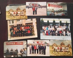 1987年包钢职工运动会照、包钢技校2003届毕业照等8张