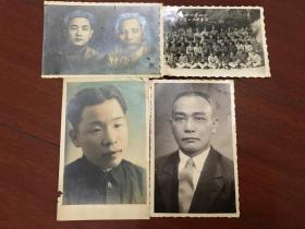 民国老照片4张