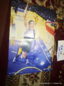 篮球海报收藏 :当代体育随刊海报347   科比  12