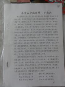 秦岭山中客家村-罗家湾
