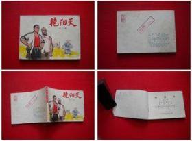 《艳阳天》第二册,人美1975.2吉林一版一印,6419号,连环画