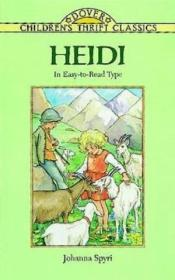 Heidi: Adapted For Young Readers (dover Childrens Thrift Classics)