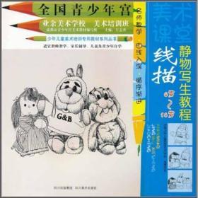 少年儿童美术培训专用教材系列丛书·线描:静物写生教程(6岁-18岁)