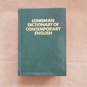 LONGMAN DICTIONARYOF CONTEMPORARY ENGLISH朗文当代英语词典