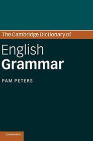 The Cambridge Dictionary Of English Grammar