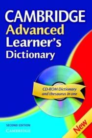 Cambridge Advanced Learners Dictionary Hardback With Cd Rom