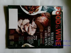 FOOD & WINE 2013/10 美食与美酒杂志 外文期刊 外文杂志