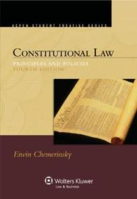 Constitutional Law: Principles And Policies  4th Edition (aspen Student Treatise Series)