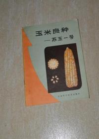 玉米良种--苏玉一号