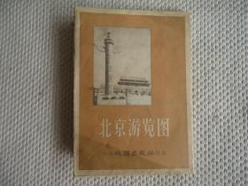 老地图,北京游览图