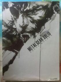 日文原版书 METAL GEAR SOLID PEACE WALKER OFFICIAL ART WORKS メタルギア ソリッド ピースウォーカー 公式设定画集 初版 (合金装备)
