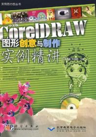 中文版CorelDRAW图形创意与制作实例精讲(1DVD) 9787030234