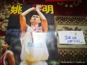 篮球海报收藏 :灌篮2001年8月号 姚明 15